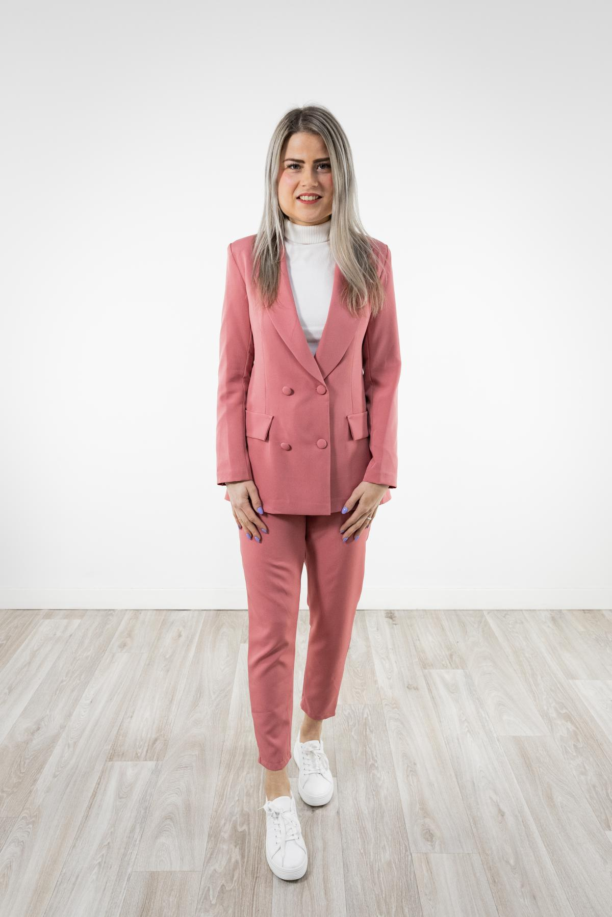 Beste Broekpak vrouw roze AL-39